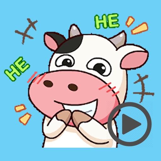 Milk Cow Animated iOS App