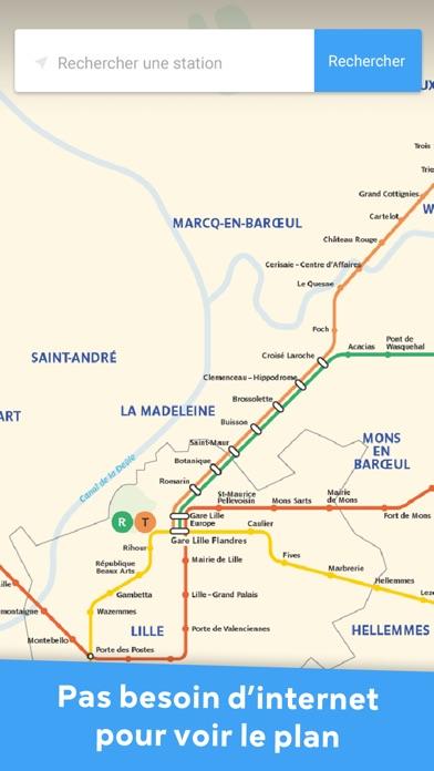 Metro Lille - Toutes les infos TranspoleCapture d'écran de 1