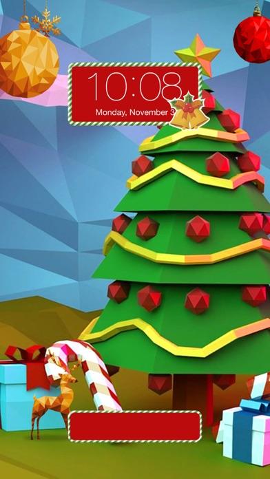 3d Christmas Wallpaper Maker Xmas Backgrounds Screenshot On Ios