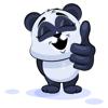 Thiet Duong - Emoji Cartoon Panda Stickers artwork