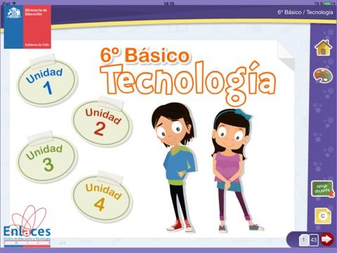 Tecnología 6º Básico screenshot 1