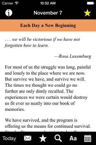 Each Day a New Beginning: Meditations for Women screenshot 2