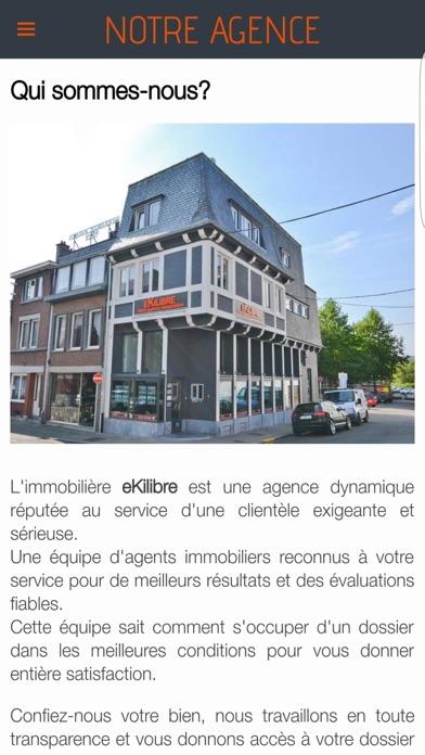 Ekilibre - Agence immobilièreCapture d'écran de 4