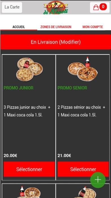 Pizza di Napoli MelunCapture d'écran de 3