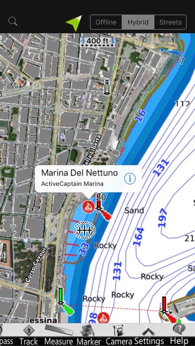 Screenshot of Calabria GPS Carta Nautica3
