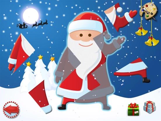 Рождество - головоломки и цвет для детей на iPad