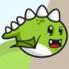 Cute Flying Dino Jurrasic Dash logo