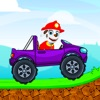 Paw Puppy Truck Racing Car - Paw Patrol Version