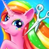Rainbow Pony Makeover - Magic Pony Games