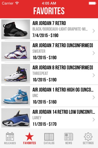 Sneaker Crush Pro: Air Jordan & Nike Release Dates screenshot 3