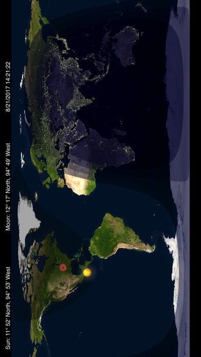 Day night world map on the app store iphone screenshot 4 gumiabroncs Choice Image