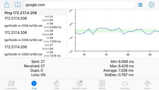 IT Tools - Network Analyzer Screenshots