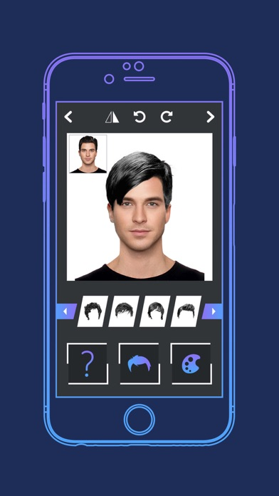 Mens Hairstyle Changer Stylish Hair For Men On The App Store - Mens hairstyle generator app