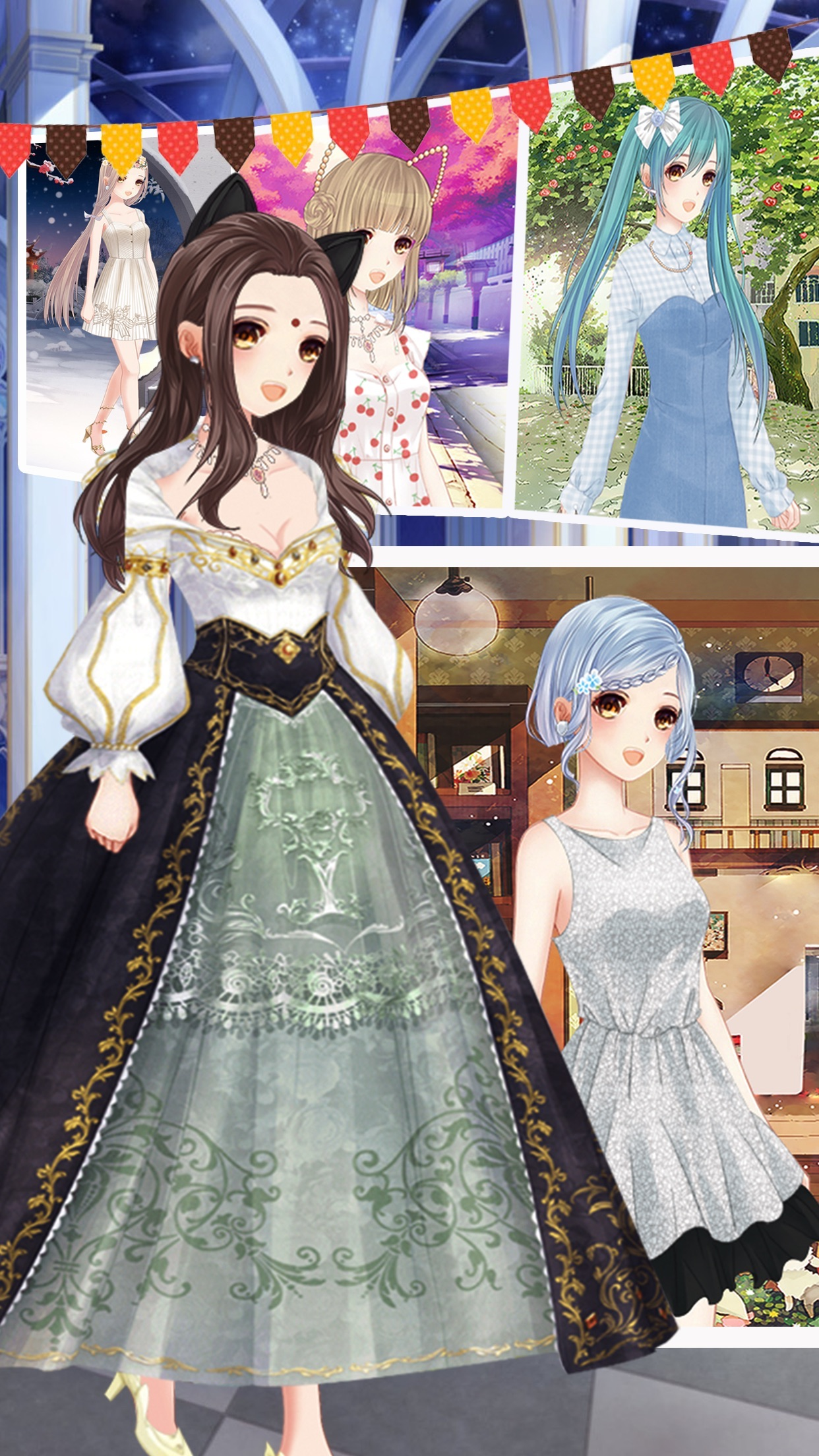 Fashionable girl dress up - Fun girl games by liu xian