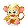 花生猴(Peanut Monkey)动态表情贴纸 Wiki