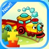 Lovely Train Jigsaw Puzzle Games -Train & friends