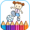 Sports Coloring Book Games for kids