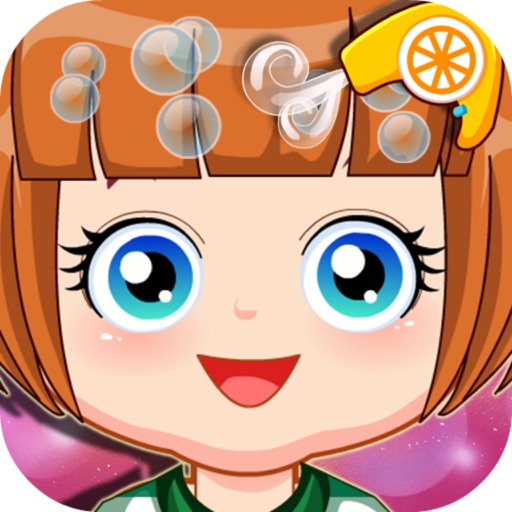 Baby Girl Hair Salon - Kids Makeup Game iOS App