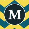 Monogram Designs   Best Chevron Wallpaper