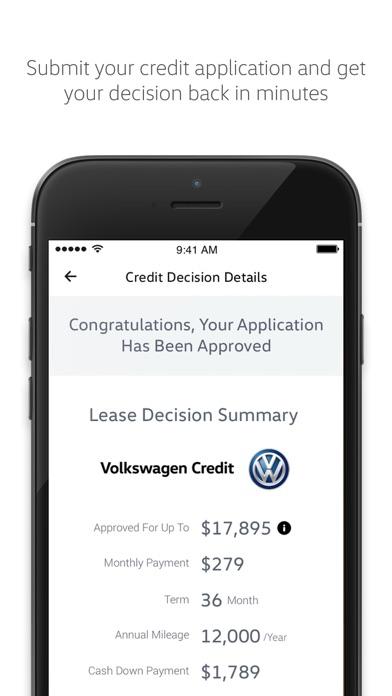 app shopper volkswagen credit finance