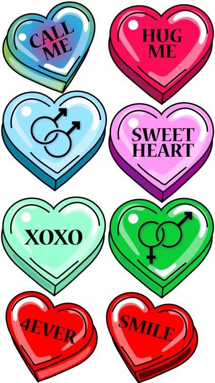 happy valentines day stickers - Valentines Day Stickers