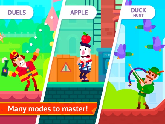 Игра Bowmasters (Ad Free) - Top Multiplayer Bowman Game