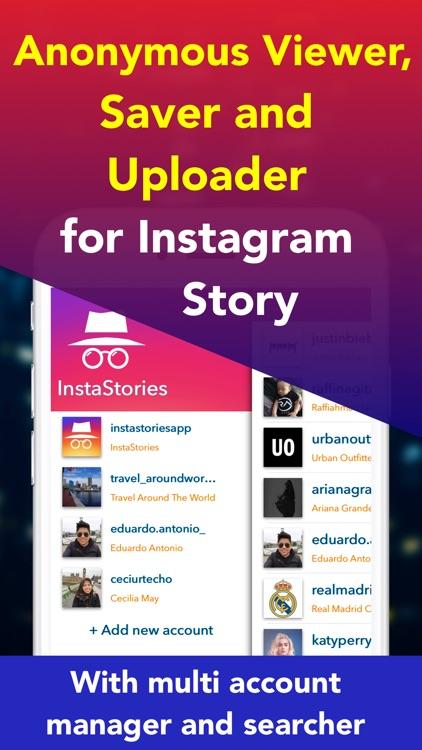 Instastories Viewer, Saver, Uploader for Instagram by Eduardo