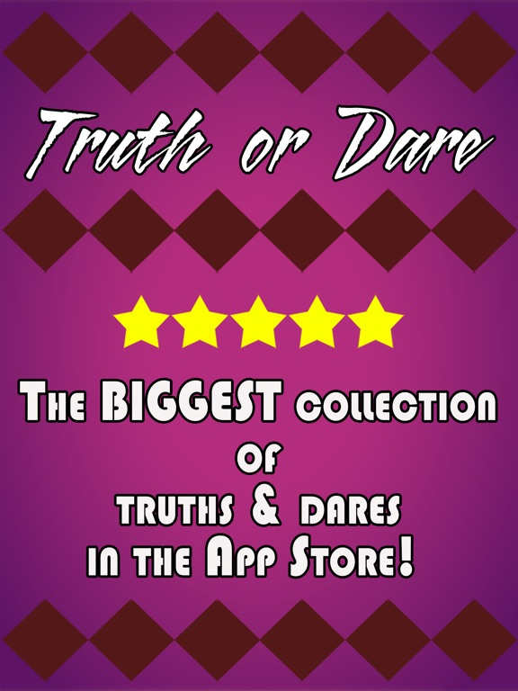 Screenshots of Truth or Dare Game (Sex Edition) for iPad