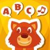 ABC Erste Wörter Für Kinder zuhören, lernen, sprechen Mit Worte in Englisch Mit Tiere