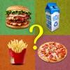 猜測食品測驗品牌和標誌