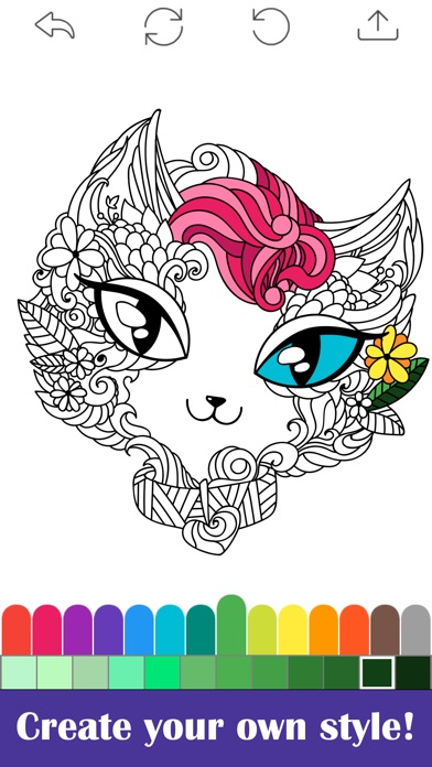 Coloring Book for Adults Free Adult Coloring Books on the App Store