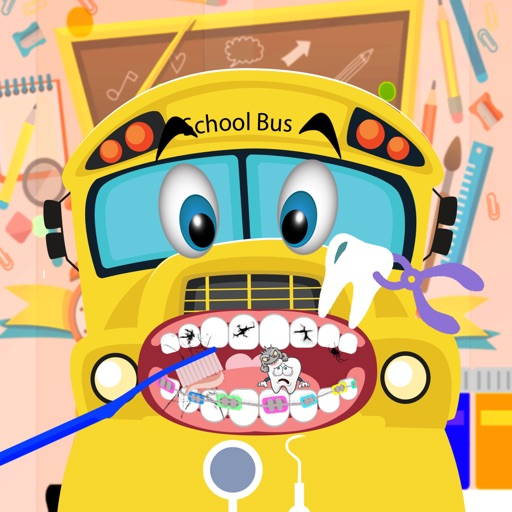 Dentist Game - Car Bus Have White Teeth iOS App