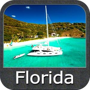 Boating florida gps nautical fishing charts app report for Florida fishing app