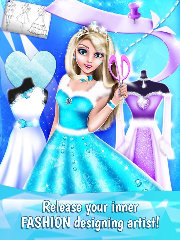 Ice Princess Dress Designer Game For Fashion Girls On The