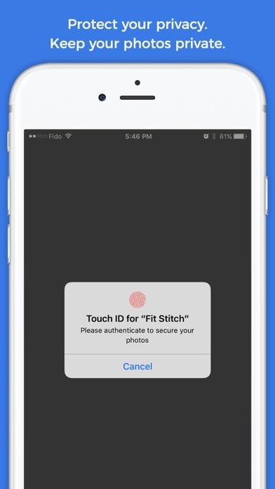 Fit-Stitch Progress Tracker Screenshots