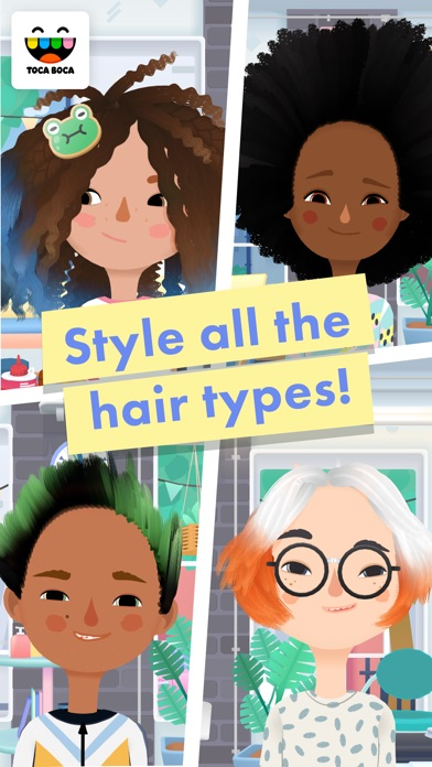 download Toca Hair Salon 3 appstore review