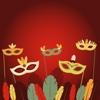 Carnival Masks - Sticker Pack disney carnival disney