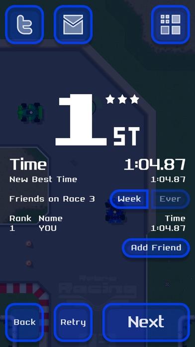 Screenshot #10 for Retro Racing