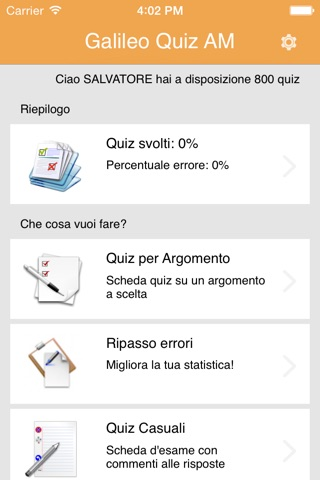 Galileo Quiz AM screenshot 1