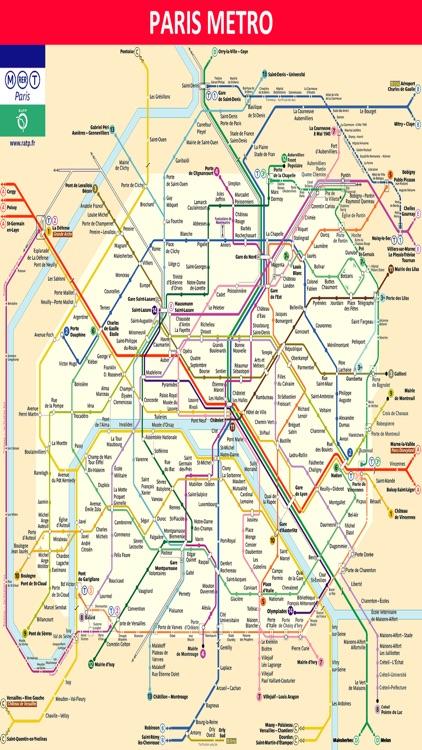 Paris Metro Subway Map.Paris Metro Subway Rail Tram Buses Rer Train Maps By Janice Ong
