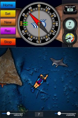 SimDive Lite for iPhone screenshot 1