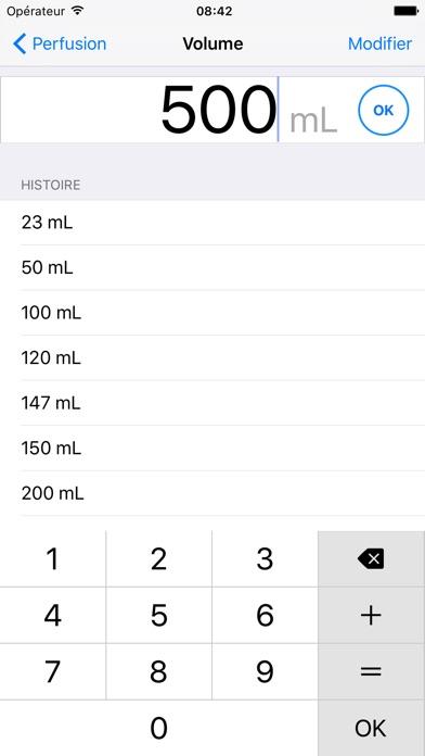 goutte infusion calculer le d bit de perfusion 3 5 1 pour ios android windows phone. Black Bedroom Furniture Sets. Home Design Ideas