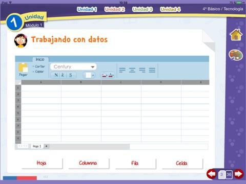 Tecnología 4º Básico screenshot 3