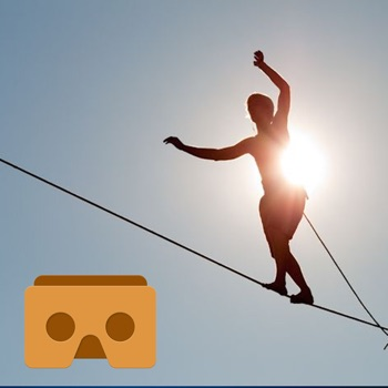 VR Tightrope walking for Google Cardboard for iPhone