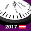 2017 Österreicher Feiertagskalender AdFree