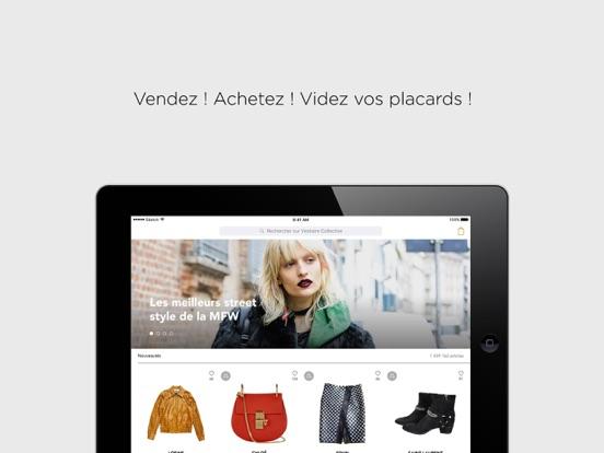 vestiaire collective achat vente mode de luxe dans l app store