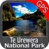 Te Urewera National Park GPS charts Navigator