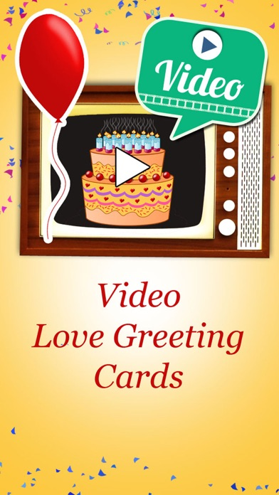 Happy birthday videos animated video greetings by mario guenther bruns screenshots iphone ipod m4hsunfo