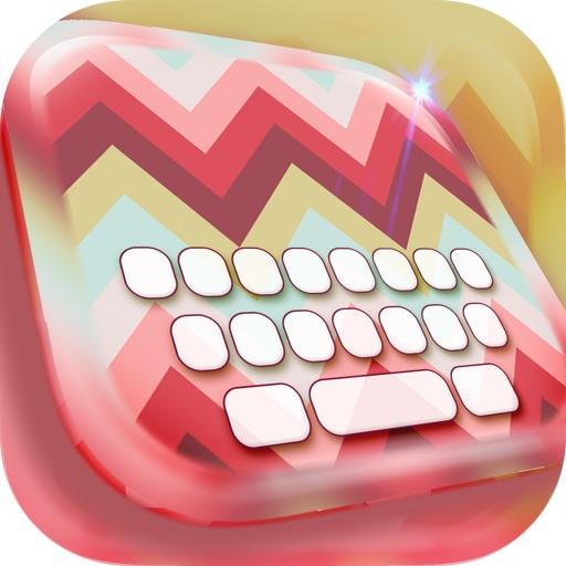 Wallpaper Art Designs in Monogram Keyboard Themes iOS App
