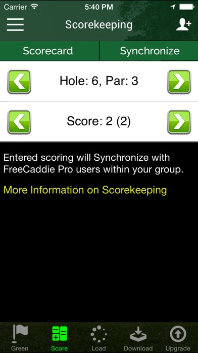 download Free Golf GPS  - FreeCaddie apps 2